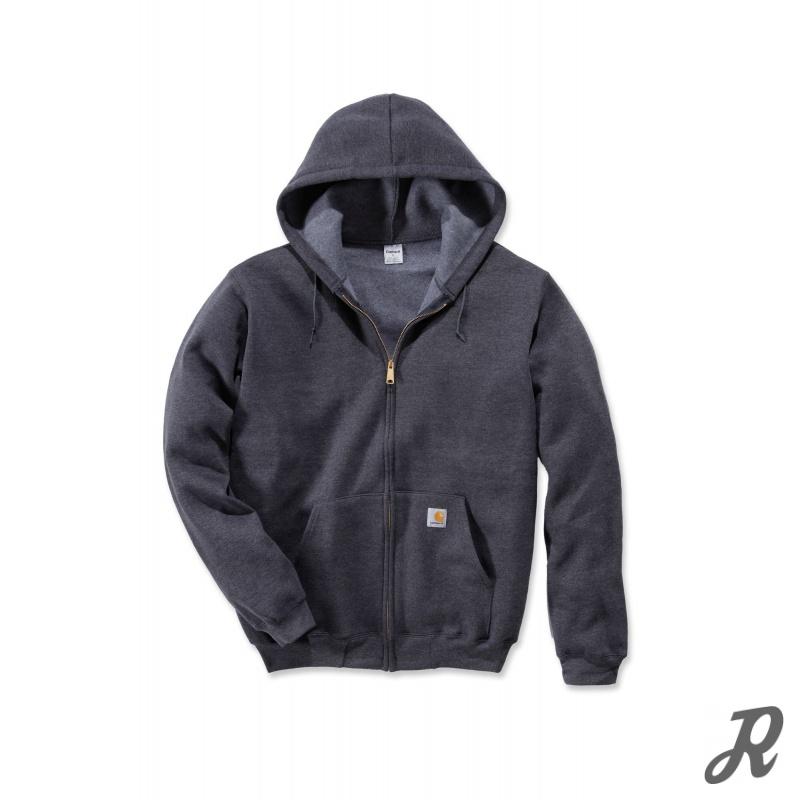 kapuzen sweatshirt mit reissverschluss mittelschwere qualit t 47 90. Black Bedroom Furniture Sets. Home Design Ideas