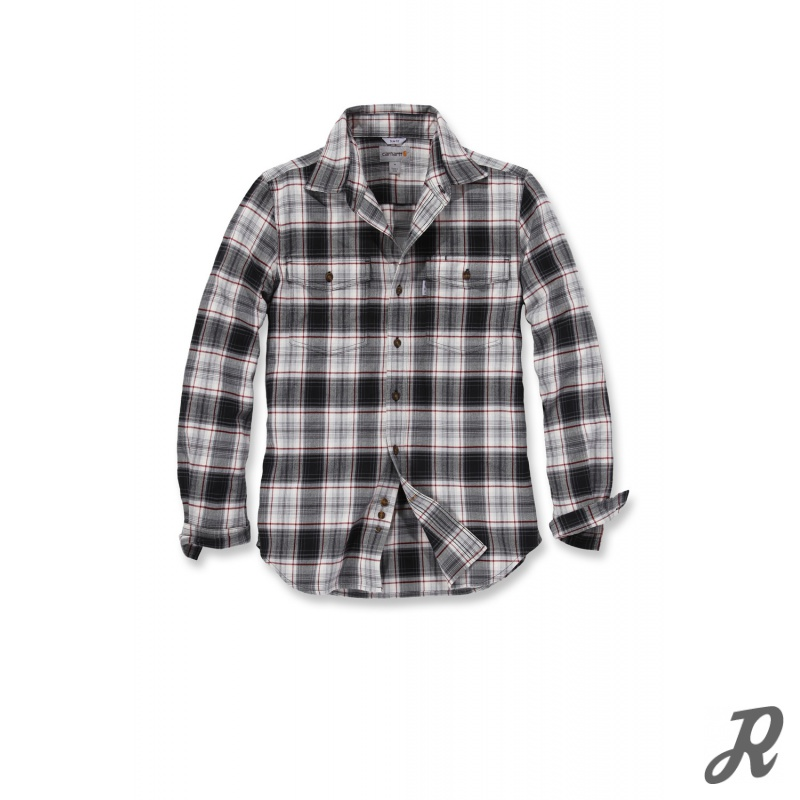 Trumbull slim fit langarm flanell hemd 54 89 for Trim fit flannel shirts