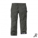 Carhartt Ripstop Cargo Work Pant Flannel Lined