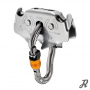 Petzl Trac Drop-proof pulleys for Tyrolean traverses