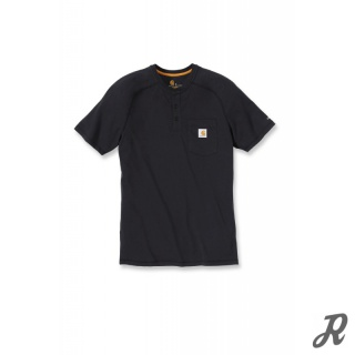 Carhartt Force Cotton Short Sleeve Henley