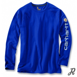 Carhartt Force Delmont Graphic Long Sleeve T-Shirt