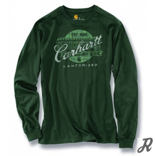 Carhartt Maddock Heritage Graphic Long Sleeve T-Shirt
