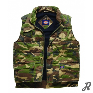 Dickies Multipocket-Weste Outland - camouflage