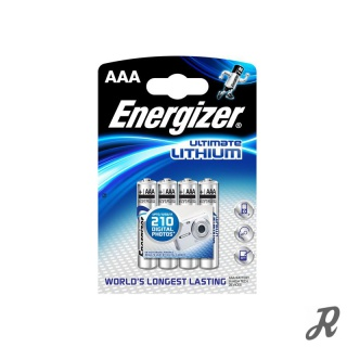 Energizer Ultimate Lithium Micro AAA LR 03/ 4er Pack