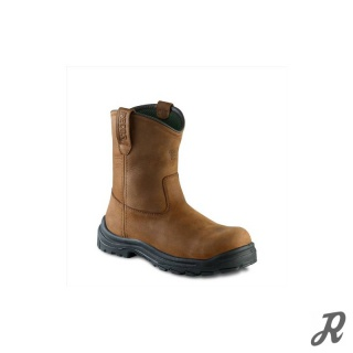Red Wing Men`s 9-inch Pull-On Boot  braun