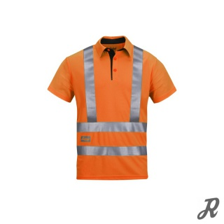 Snickers High-Vis A.V.S. Polo Shirt Klasse 2/3